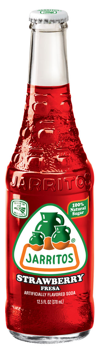 Jarritos® Strawberry Soda, 12.5 oz.