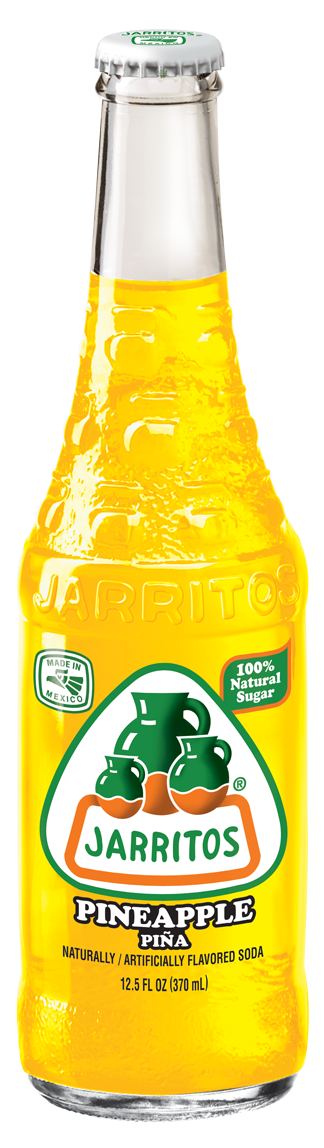 Jarritos® Pineapple Soda, 12.5 oz.