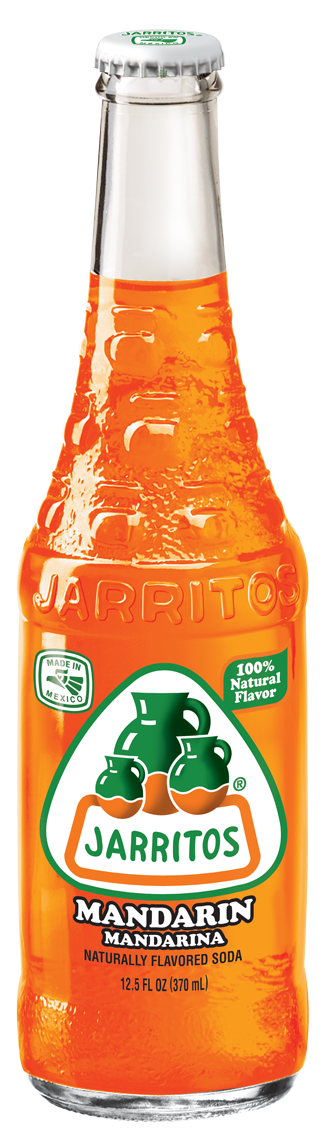 Jarritos® Mandarin Soda, 12.5 oz.