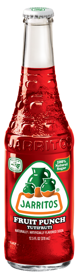 Jarritos® Fruit Punch Soda, 12.5 oz.