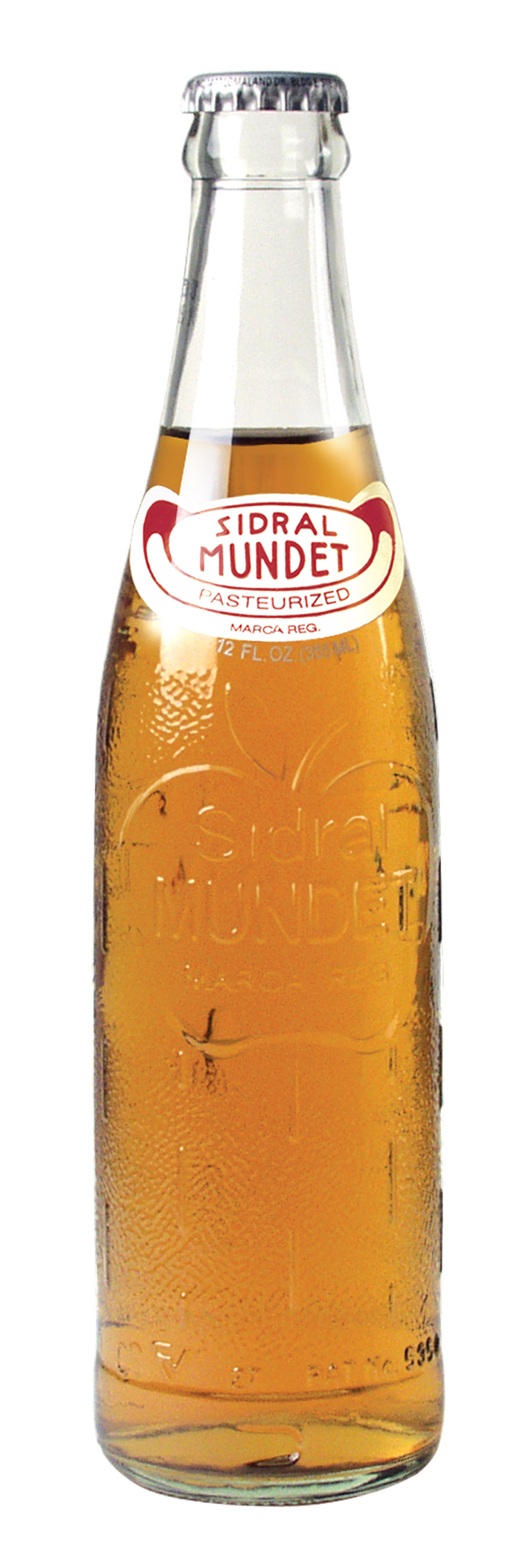 Mundet Apple Cider (Sidral) Soft Drink, 12 oz.