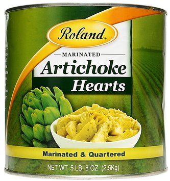Artichoke Quarters, Marinated
